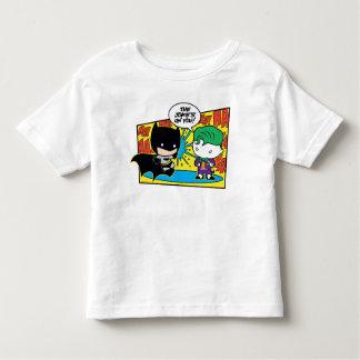 Comodín de Chibi Pranking Chibi Batman Camiseta De Bebé
