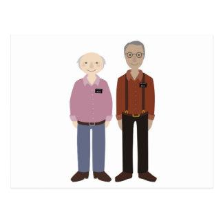 Compañeros de la anciano de los misionarios de LDS Postal