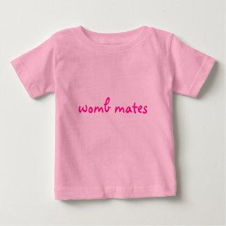 compañeros de la matriz camiseta de bebé