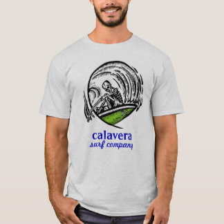 compañía de la resaca del calavera - diseño 2 camiseta