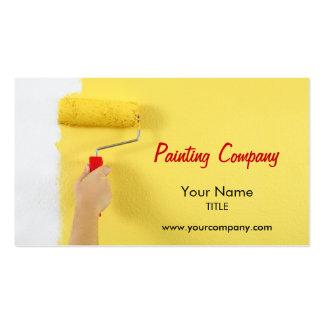 compañía/pintor/interiorista de la pintura tarjetas de visita