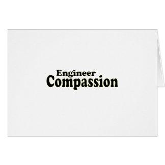 Compasión del ingeniero tarjeta de felicitación