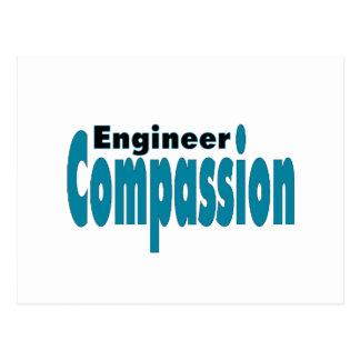 Compasión del ingeniero postales