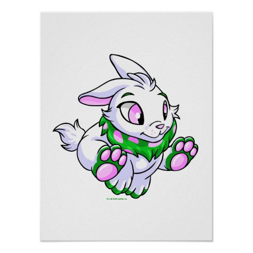 Competir con Cybunny verde Posters