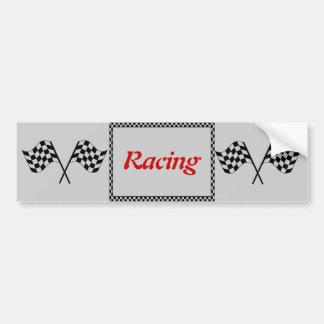 Competir con el tablero de damas señala a la pegat pegatina para coche