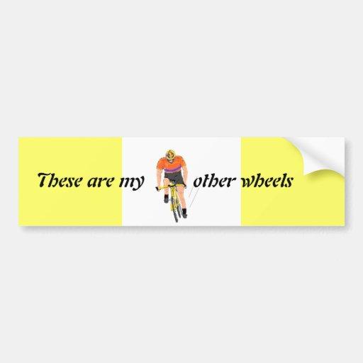 Competir con la etiqueta engomada de parachoques d pegatina de parachoque