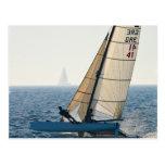 Competir con la postal del velero