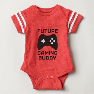 Compinche futuro retro del juego body para bebé