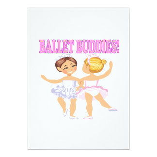 Compinches del ballet invitación