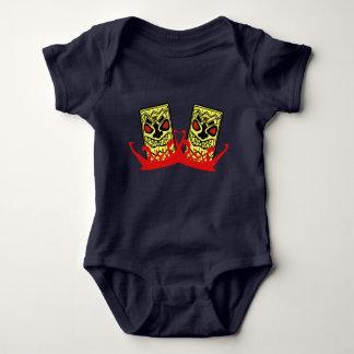 Compinches del Mono-Tiki del jersey del bebé