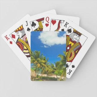 Complejo playero tropical, Belice Baraja De Cartas