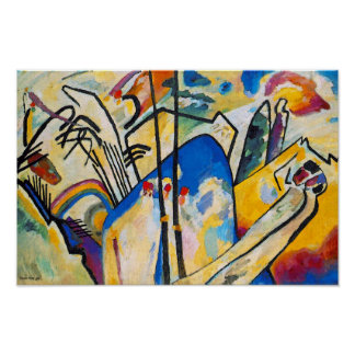 Composición cuatro de Wassily Kandinsky - arte