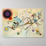 Composición VIII por Kandinsky. Poster