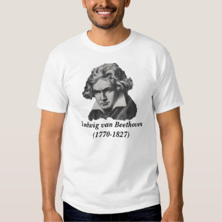 Compositor - Beethoven Camisetas