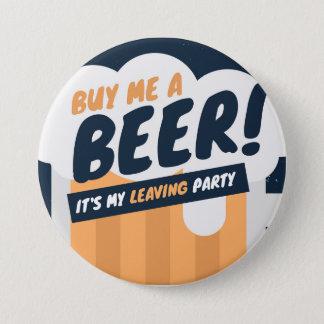 Compra -moi una cerveza chapa redonda de 7 cm