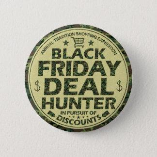 Compradores negros divertidos del descuento del chapa redonda de 5 cm