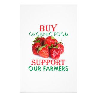 Compre el alimento biológico folleto 14 x 21,6 cm
