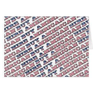 Compre el alquiler americano triunfo americano de tarjeta de felicitación