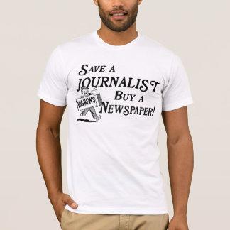 Compre el periódico ahorran la camiseta del