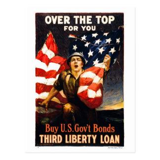 Compre enlaces de guerra de los E.E.U.U., sobre el Tarjetas Postales