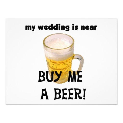 Cómpreme una despedida de soltero de la cerveza la comunicados
