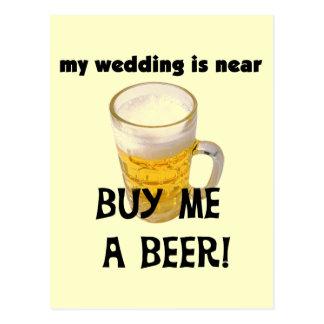 Cómpreme una despedida de soltero de la cerveza postal