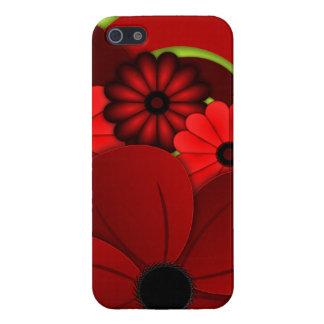 Comprensión floral del caso 5S del iPhone 5 del iPhone 5 Carcasa