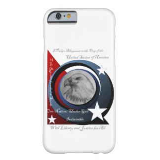 Compromiso del caso de la lealtad funda barely there iPhone 6