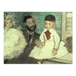Comte Le Pic y sus hijos Tarjeta Postal