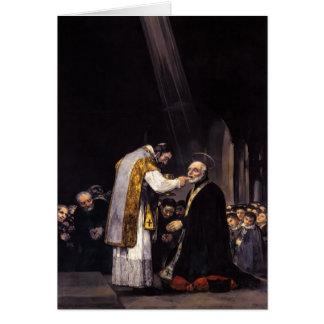 Comunión Goya-Pasada de Francisco de San José Felicitaciones