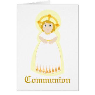 Comunión-Personalizar Felicitación