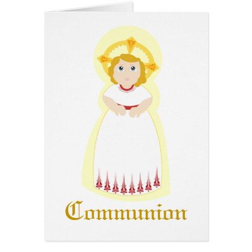 Comunión-Personalizar Tarjetón