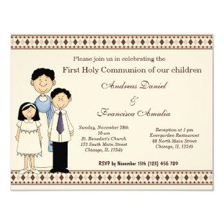 Comunión santa invitación 10,8 x 13,9 cm