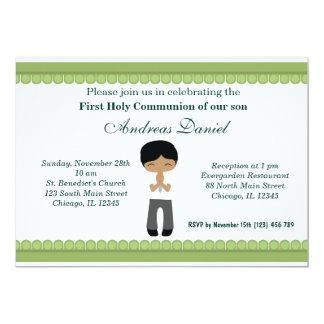 Comunión santa invitaciones personales