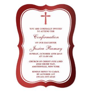 Comunión santa metálica o confirmación de la Cruz