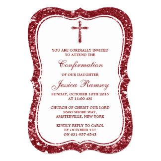 Comunión santa o confirmación de la cruz roja del