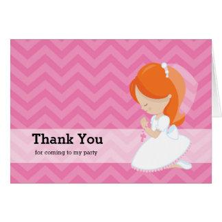 Comunión santa tarjeta de felicitación