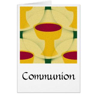 Comunión Tarjeta