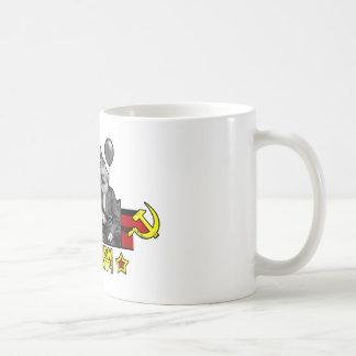 Comunismo es un fiesta taza de café