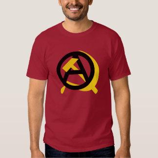 Comunista del anarquista camiseta