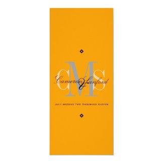 Con clase + Invitaciones contemporáneas del boda Invitación 10,1 X 23,5 Cm