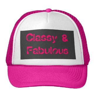Con clase y fabuloso gorras de camionero