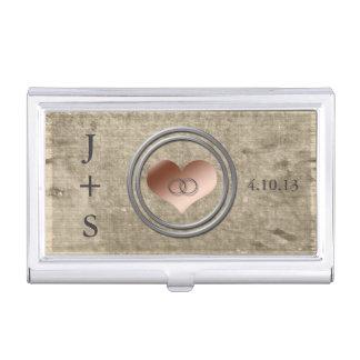 Con este anillo de Shirley Taylor Caja De Tarjetas De Visita