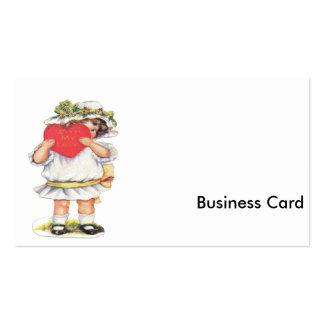 Con mi amor tarjetas de visita