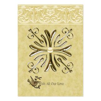 Con todo nuestro amor tarjetas de visita grandes
