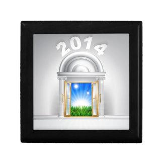 Concepto 2014 de la puerta de la esperanza del Año Cajas De Joyas