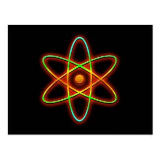 Concepto atómico postal