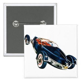 Concepto auto clásico de Tucker del coche del vint Pins