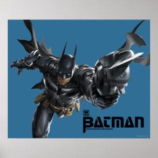 Concepto Batman con Batclaw Póster