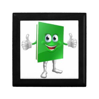 Concepto de la educación de la mascota del libro caja de recuerdo